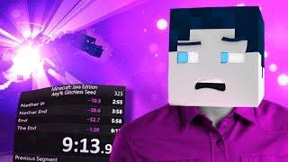 Deutscher Minecraft Speedrun REKORD (9:13.99) - mit HANDCAM