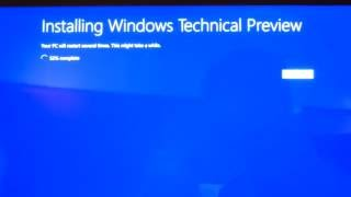 Installing Windows 10 Surface Pro 3