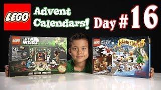 LEGO CITY Advent Calendar & LEGO STAR WARS Advent Calendar DAY 16 - 2013 Set 60024 & 75023