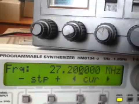 CB radio Alan 87, s-meter, filtr ssb, strojenie