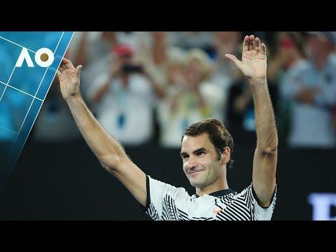 Federer v Nishikori match highlights (4R) | Australian Open 2017