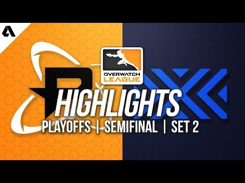 Philadelphia Fusion vs New York Excelsior | Overwatch League Playoffs Senifinals Highlights Match 2 thumbnail