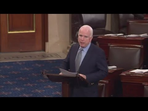 John McCain and Dick Durbin argue over Lynch nomination