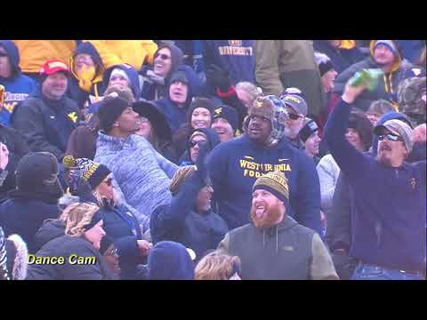 WVU Football Dance Cam - Anderson Small & Charles Hayes