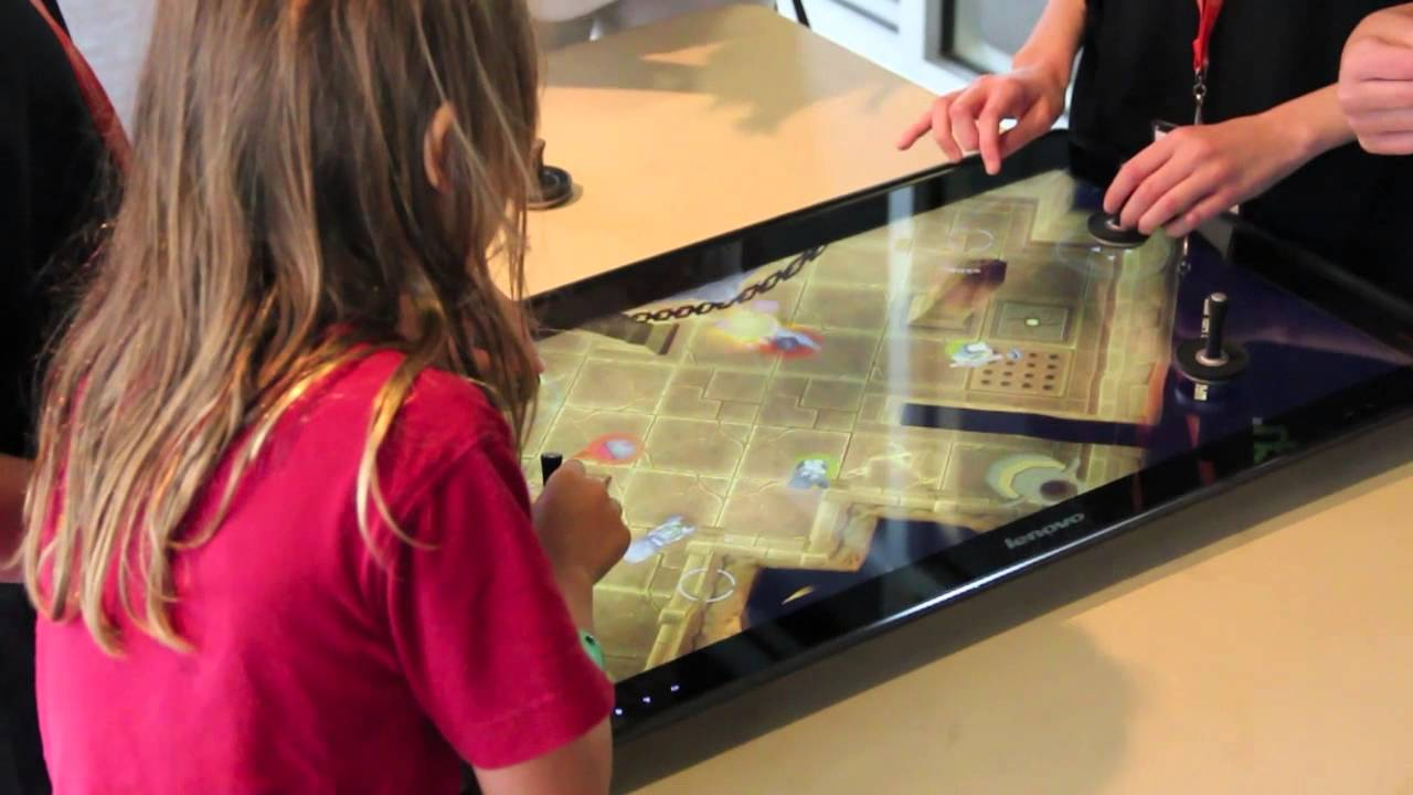 Lenovo Horizon Table Pc Hands On With The World S Biggest
