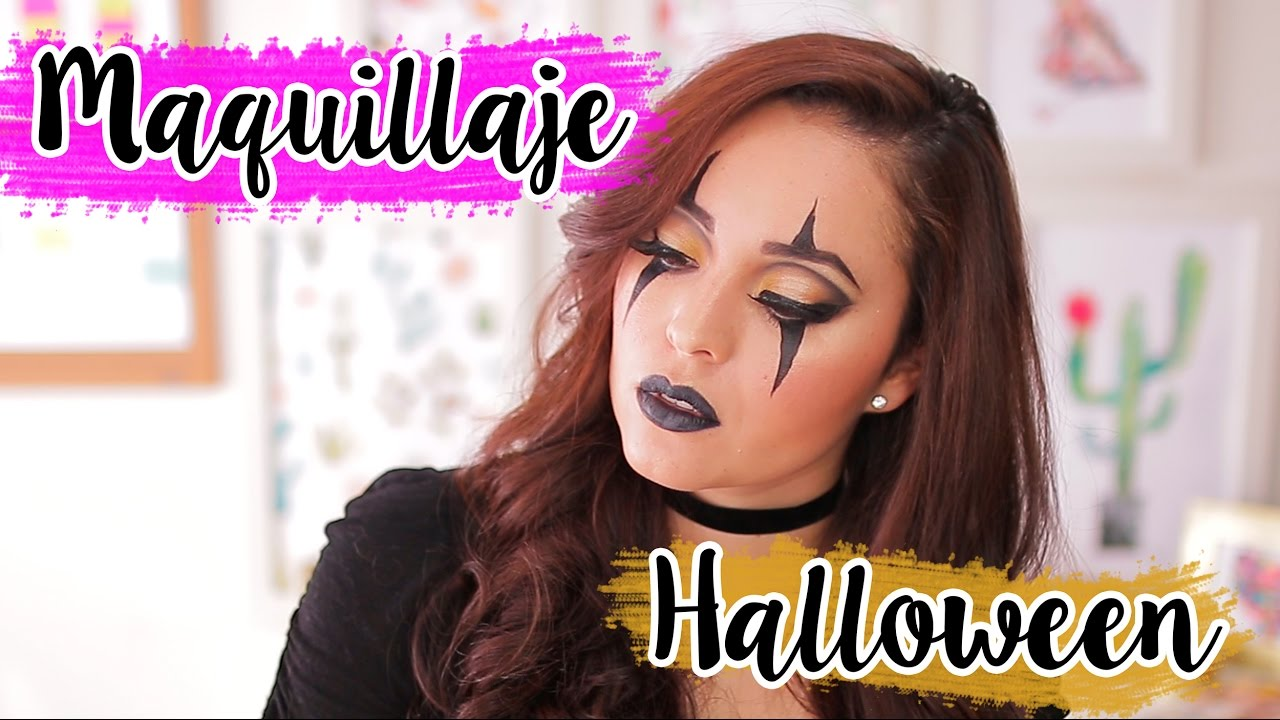 Maquillaje Para Halloween Sin Gastar Dinero Fabi Ortiz Youtube