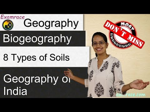8 Types of Soils in India - Geography of India