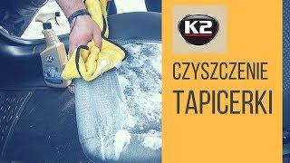 Jak usunąć plamy z tapicerki samochodowej, pranie tapicerki - K2 Tapis, płyn i pianka czyszcząca