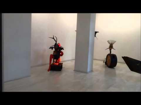 "MICHALIS ARFARAS, "" IDOLS"", Ekfrasi Gallery"