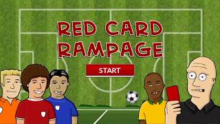 Red Card Rampage - First play video game review!