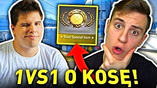 JACOB vs ZONY o KOSĘ w CSGO