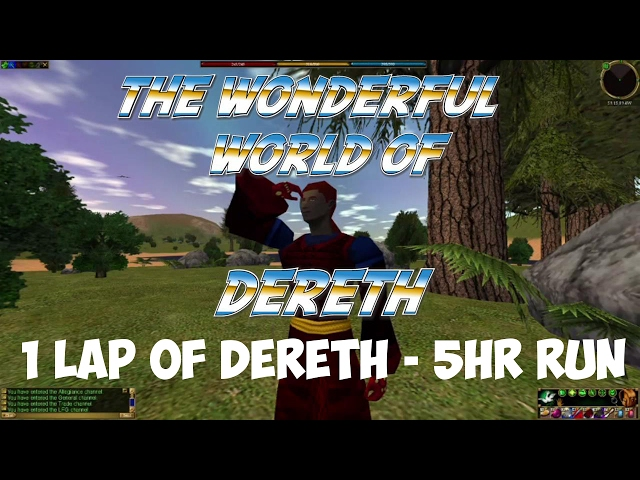 Asheron's Last Call - 5 hour run around Dereth