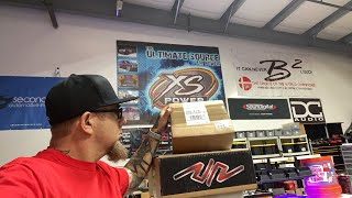 Car audio stuff? Performance upgrades? two mystery boxes arrived. Lets open them!