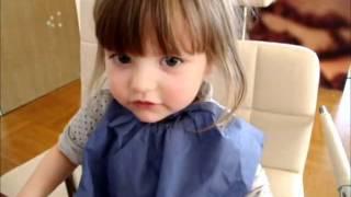 超可愛二歲德國小女孩背唐詩