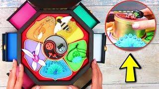 DIY Леди Баг шкатулка для всех чудес Ladybug & Catnoir своими руками