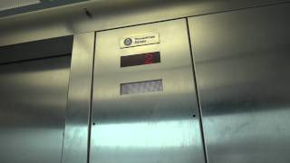 Scenic ThyssenKrupp Banjo Elevator at Metro Garage, Clayton, MO