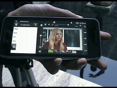 LG New smartphone from MWC 2010 - LG GW990, LG GT540, LG Mini GD880 - HD eng video