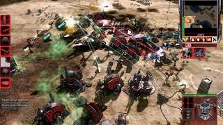 Command & Conquer 3 Tiberium Wars - EPIC 1 NOD VS 3 Brutal AI Scrin Skirmish