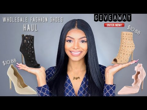 $10 Wholesale Fashion Shoe Haul + GIVEAWAY (CLOSED)