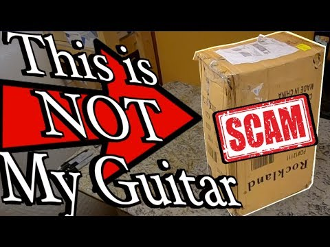 I Got Scammed On Reverb - What's In The Scam Box? | Trogly's Guitar Unboxing + Boxing Vlog 39