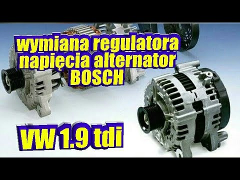 Naprawa Alternatora Wymiana Regulatora Napięcia Alternator Bosch VW 1,9tdi