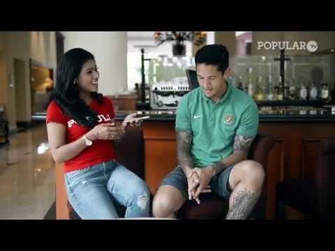 Duet Irfan Bachdim + Stefano Lilipaly versus Miss POPULAR Indonesia!