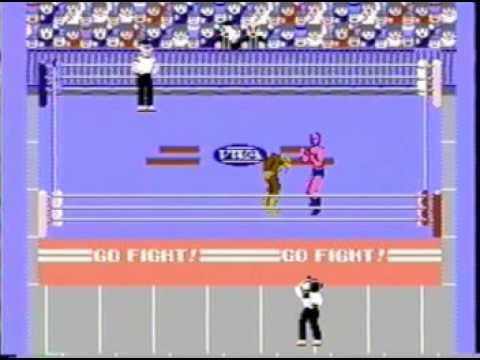 Pro Wrestling NES Multiplayer 1: Star Man Vs Giant Panther