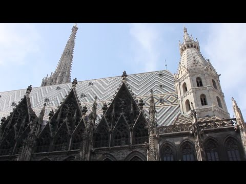 Travels in Stephansplatz Vienna Austria