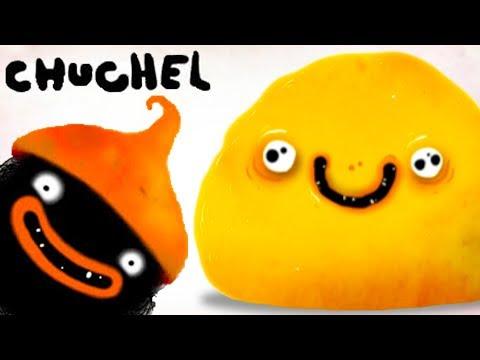 Смешные ПРИКЛЮЧЕНИЯ Черного ЗВЕРЬКА ЧУЧЕЛ #1 Начало. Кид играет в Chuchel на канале #пурумчата