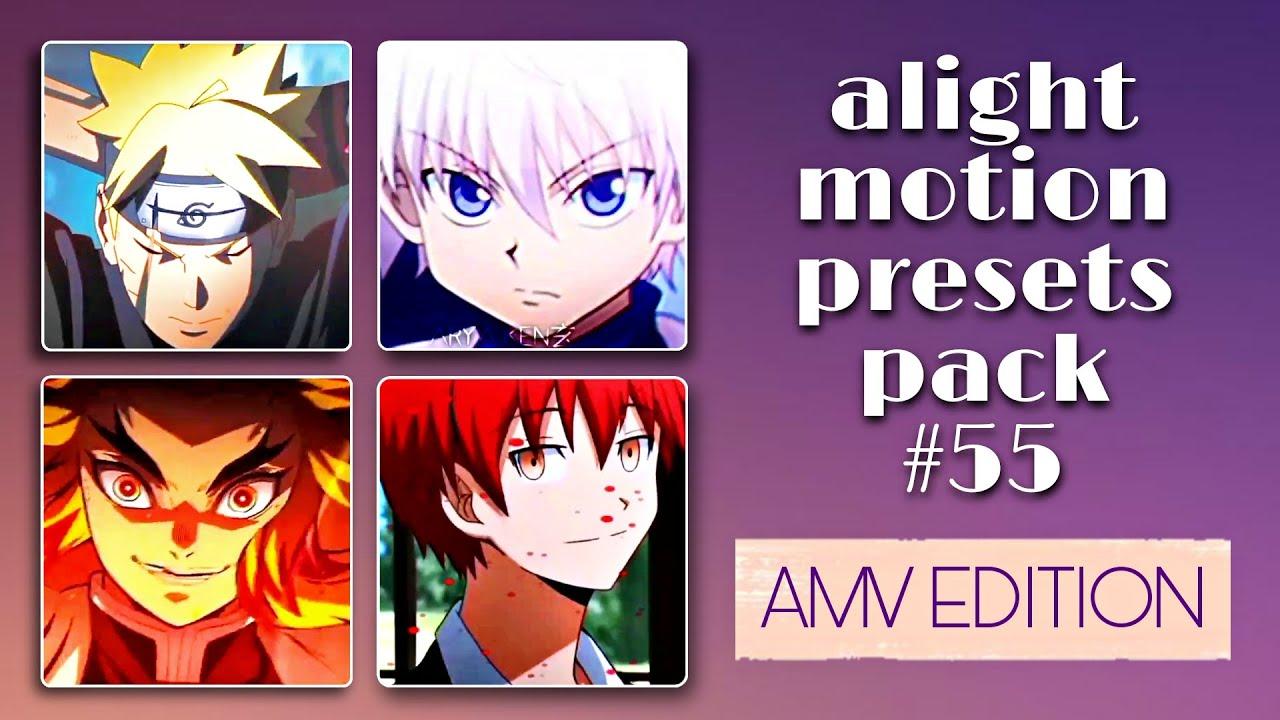 ALIGHT MOTION PRESET BASES PACK #55   AMV EDITION   namjoons