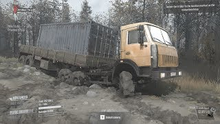 🔴 Extreme Off Road Truck Driving Fails | Spinteres Mudrunner Simulator Game for PC