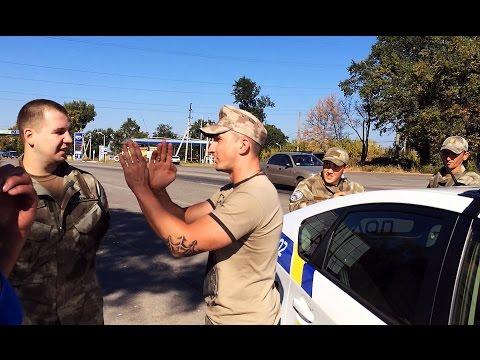 Беспредел 'ветеранов' АТО и полиции Харькова