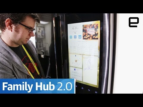 Samsung Family Hub 2.0: Hands-On