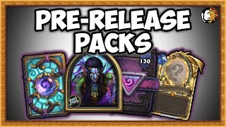 Hearthstone: Rise Of Shadow - Pre-Release Pack Opening