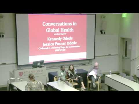Conversations in Global Health: Kennedy Odede & Jessica Posner Odede