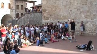 straatorkest TOOS! in Toscane 2014