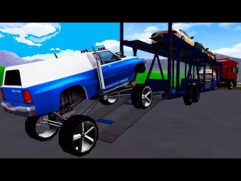 Monster Truck Jam Transport 3D Android Gameplay HD Video