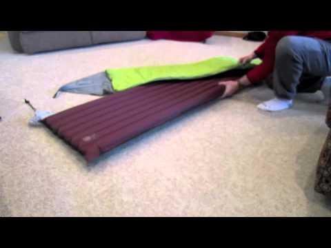 Big Agnes sleeping giant memory foam pad