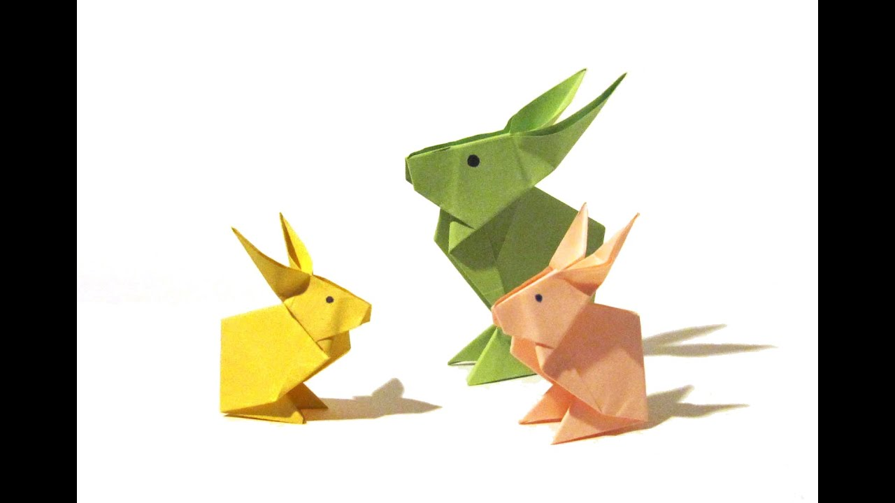 Easter origami rabbit tutorial how to make an origami rabbit easter origami rabbit tutorial how to make an origami rabbit youtube jeuxipadfo Choice Image