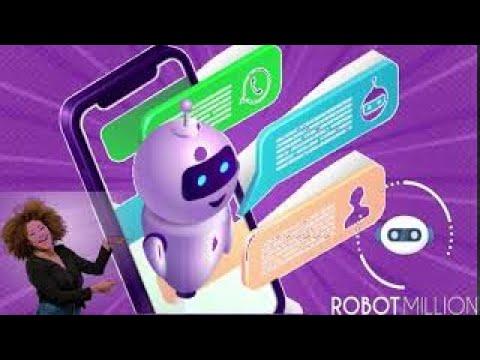 Máquina de vendas Robot Million vendas automáticas a melhor Ferramenta de Remarketing