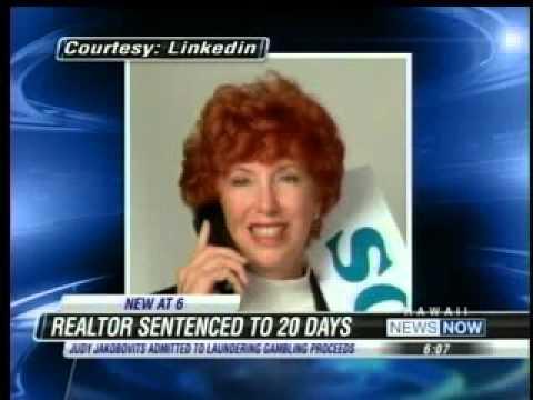 East Oahu Realty's Judy Jakobovits Off To Prison
