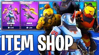 New Fortnite Item Shop! NEW BEASTMODE SKIN! 4 SKINS IN 1! Daily & Featured Items