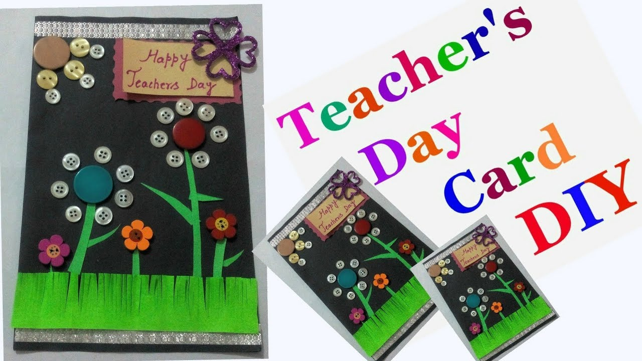 Diy teachers day greeting card making ideas for kids easy handmade diy teachers day greeting card making ideas for kids easy handmade cards for teachers day m4hsunfo Image collections