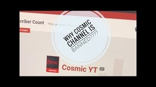 Cosmic YT Account Banned | Rage Cosmic YouTube Channel Banned / Terminated | Mortal Explains WHY