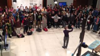 """BYU University Chorale sings """"Where Can I Turn for Peace"""""""