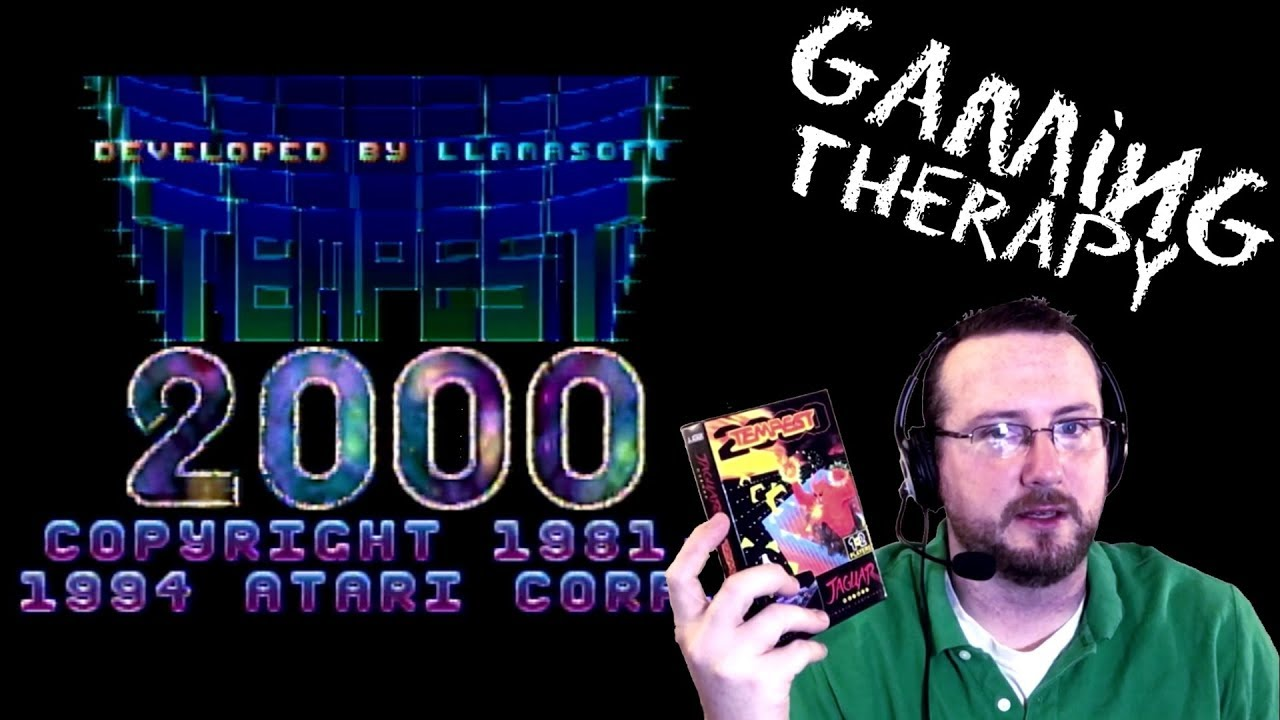 Gaming Therapy - Episode 4: Tempest 2000 (Atari Jaguar)