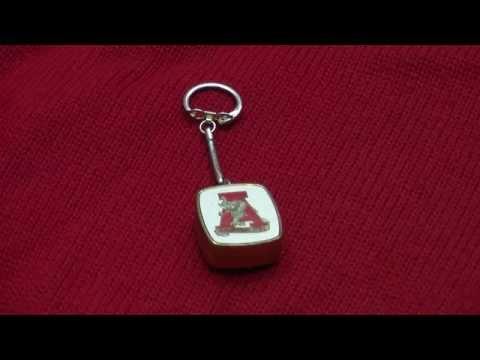 University of Alabama  Musical Key Chain
