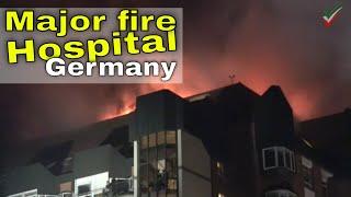 Großbrand im Universitätsklinikum Bergmannsheil Bochum – Erste Zusammenfassung