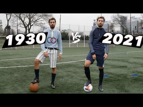 FOOTBALL 1930 vs FOOTBALL 2021 (Équipement complet)