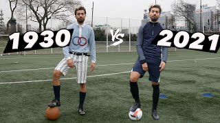 FOOTBALL 1930 vs FOOTBALL 2021 (Équipement complet)